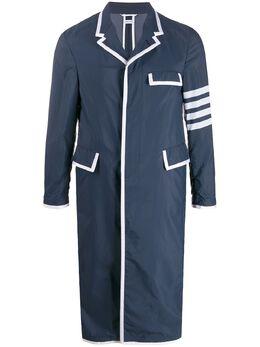 Thom Browne пальто с полосками 4-Bar MOU569B06145