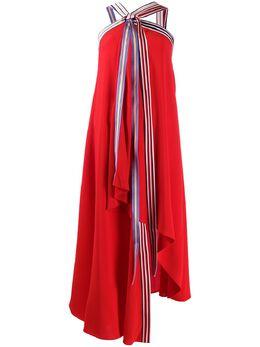 Monse расклешенное платье с вырезом халтер MP19N0217SCA