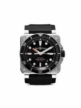 Bell&Ross наручные часы BR 03-92 Diver 42 мм BR0392DBLSTSRB