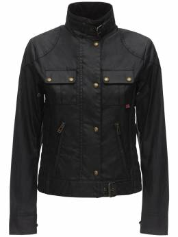 Buttoned Waxed Cotton Jacket Belstaff 71IWOR006-OTAwMDA1