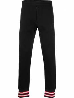 Alexander McQueen спортивные брюки с вышивкой Skull 595595QOZ80