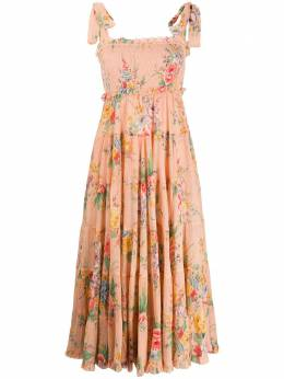 Zimmermann ярусное платье Zinnia 5288DZIN
