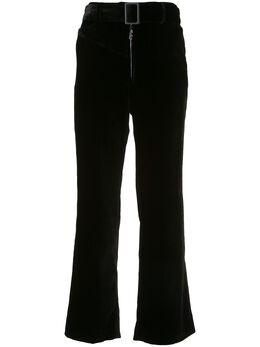 Ellery расклешенные брюки Supervision с поясом 9FP444VE