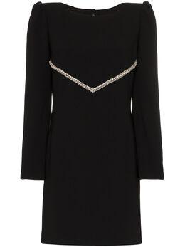 Haney платье мини Audrey с кристаллами R20559311