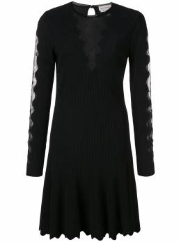 Alexander McQueen платье с длинными рукавами 585220Q1AD9