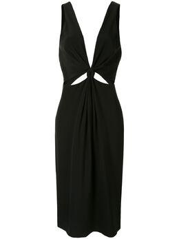 Dion Lee платье с узлом A9637R20