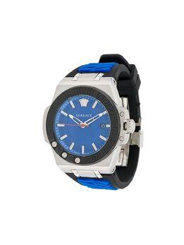 Versace наручные часы Chain Reaction 45 мм VEDY00119