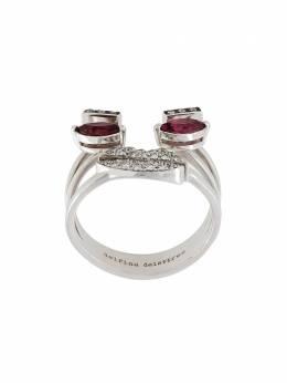 Delfina Delettrez декорированное кольцо в форме лица ANA1022C