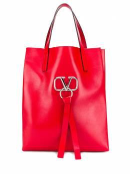 Valentino Garavani сумка-тоут с декором VRing SY2B0828VDL