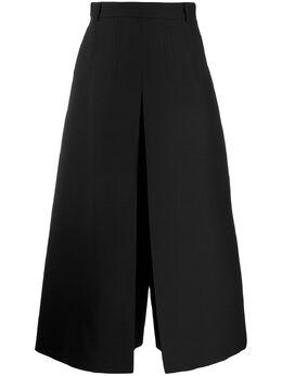 Valentino укороченные брюки широкого кроя TB3RB3N01CF