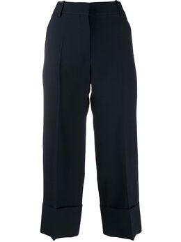 Valentino укороченные брюки строгого кроя TB3RB3901CF