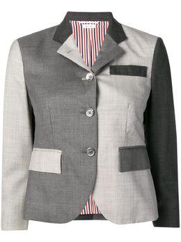 Thom Browne пиджак смешанного кроя FBC010F00626