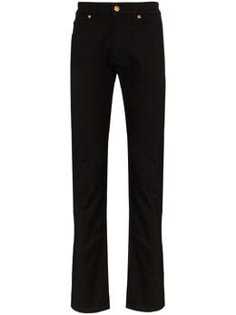 Versace джинсы с вышивкой на кармане A85187A232938