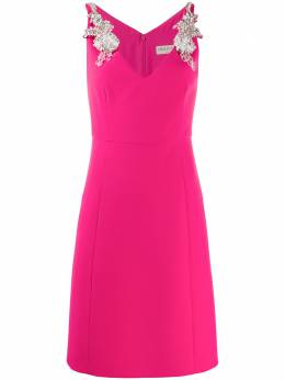 Emilio Pucci платье с отделкой на плечах 0ERG280E611