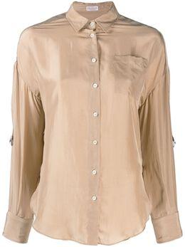 Brunello Cucinelli классическая рубашка MA929NU206C9320
