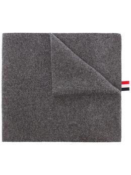 Thom Browne кашемировый шарф с полосками MKS026A00011