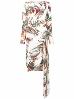 Givenchy платье с абстрактным принтом BW20E011C6