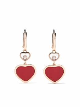 Chopard серьги-подвески 'Happy Hearts' с бриллиантом 8374825810