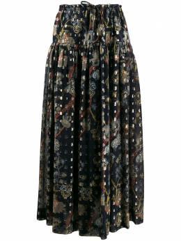 Chloe юбка макси с цветочным принтом CHC20SJU22320