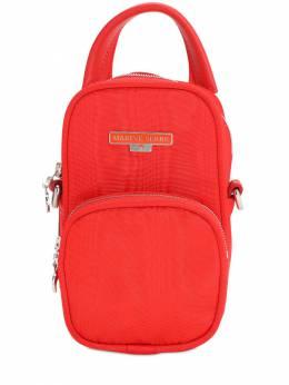 Рюкзак Из Вискозы С Логотипом Marine Serre 71IJ5K005-MzA1