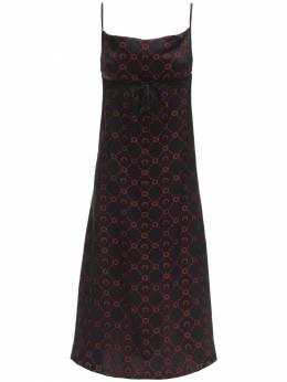 Платье Из Жаккарда Marine Serre 71I4XZ040-MDU1