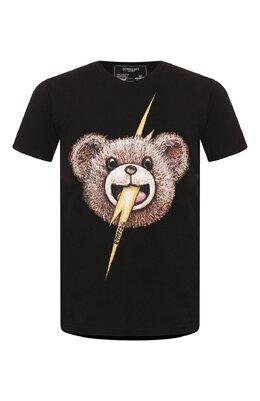 Хлопковая футболка Dom Rebel B0LTFACE/REGULAR T-SHIRT