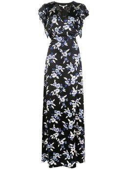 Veronica Beard платье макси Padma с цветочным принтом 1911CHM022794