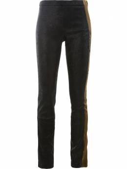 Haider Ackermann embroidered side trousers 1845412283035