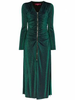 Sies Marjan платье миди на молнии 14IL501220335