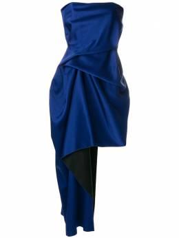 Roland Mouret асимметричное платье с драпировкой PS18S0219F6377
