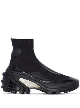1017 Alyx 9Sm высокие кроссовки-носки AAUBO0022YA01BLK0001