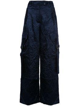 Sies Marjan брюки широкого кроя с жатым эффектом 11CS6034