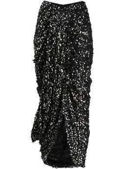 Isabel Marant юбка Calliandra с пайетками JU106819H003I