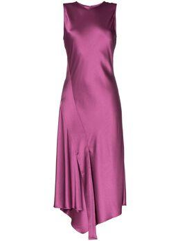 Sies Marjan платье миди Vanessa асимметричного кроя 14KS5216
