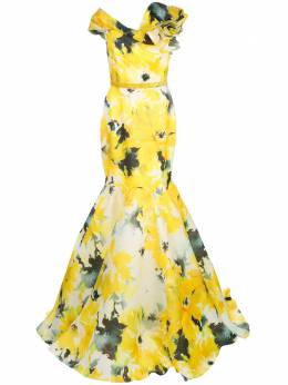 Marchesa вечернее платье с открытыми плечами M26828