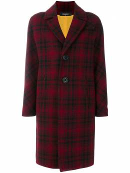 Dsquared2 checked single breasted coat S75AA0241S48921