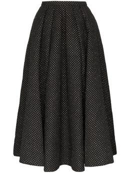 Rosie Assoulin пышная юбка в горох с блестками 194S03