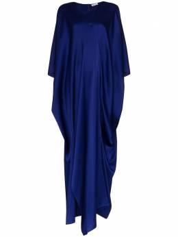 Rosetta Getty платье-кафтан длины макси с драпировкой 11205H0446