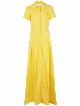 Alexis длинное платье Felicity с короткими рукавами A31904265657