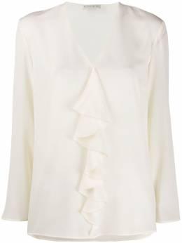 Etro блузка с длинными рукавами и оборками 136058500