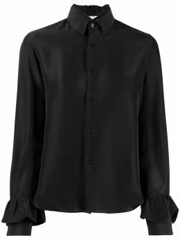 Comme Des Garcons Noir Kei Ninomiya рубашка с двойным воротником 3DB009W19