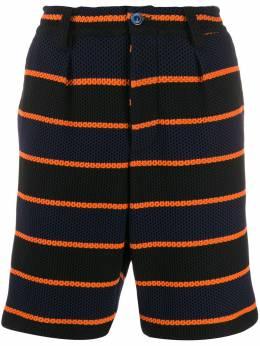 Marni полосатые шорты PJMU0032A0S23586