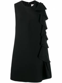 Valentino платье-трапеция с оборками SB3VAN951CF