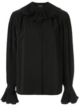 Giambattista Valli блузка с оборками 19FWSVCI163629SCC