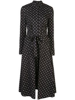 Rosetta Getty платье рубашка с узором в горох 11205F2566Q