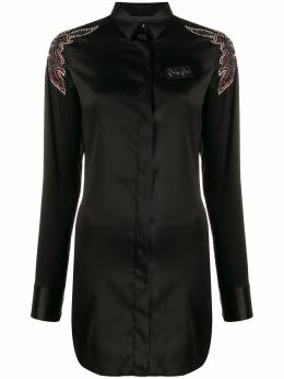 Philipp Plein платье-рубашка Cowboy A19CWRG1337PTE003N
