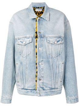 Balenciaga джинсовая куртка в стиле оверсайз 543033TAP04