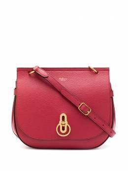 Mulberry маленькая сумка-сэтчел Amberley с зернистым эффектом HH4703205L160
