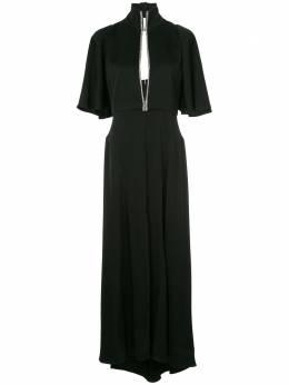 Ellery платье 'Mae' с воротником-стойкой 8RD409CRSEBLACK