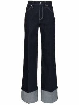 Chloe джинсы широкого кроя с подворотами CHC20SDP03151